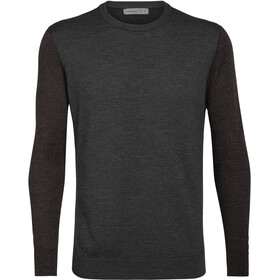 Icebreaker Shearer Crew Sweater Men, char heather